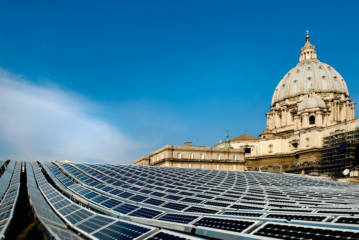 Thermo Volt in Vatican City, October 2008