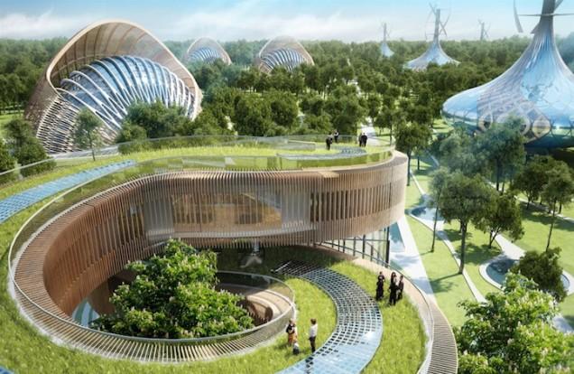 Fotovoltaico Vincent Callebaut e il suo sogno!