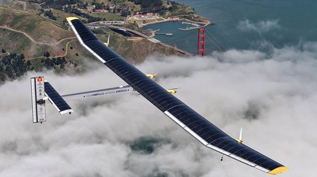Pronto per il giro del mondo l'aereo fotovoltaico