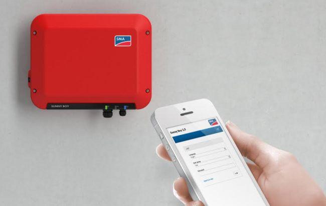 Sunny Boy 1.5 2.5 Inverter fotovoltaico per piccoli impianti con WiFi integrato